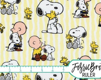 snoopy stripe fabric by the yard fat quarter snoopy fabric peanuts fabric charlie brown fabric quilting fabric 100 cotton fabric - Snoopy Christmas Gifts