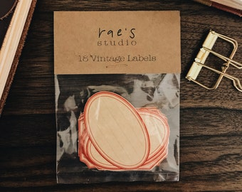 Vintage Looking Labels