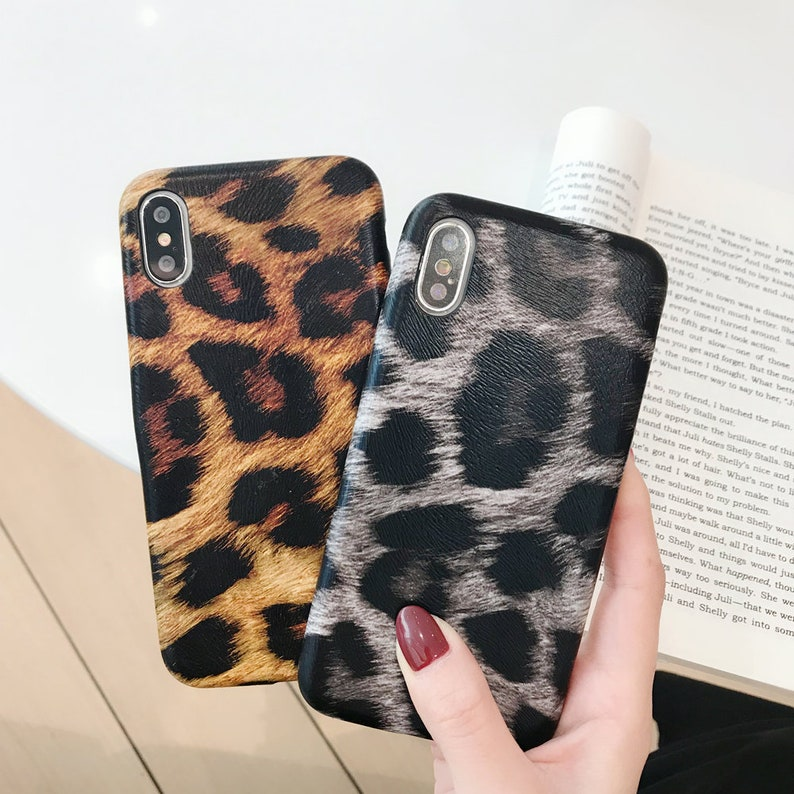 59720cb18af4 Leopard Print Soft Slim Case for iPhone XS Max iPhone X XR 8