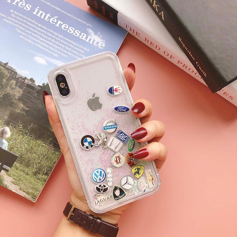 e54b686bf IPhone 6s Case Clear Glitter iPhone 7 8 Plus Protective Gel