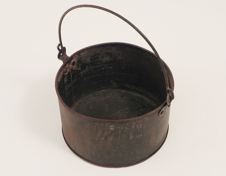 1800's Tinware Cooking Pot