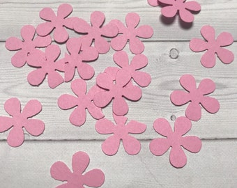Card Stock Party Flower Confetti