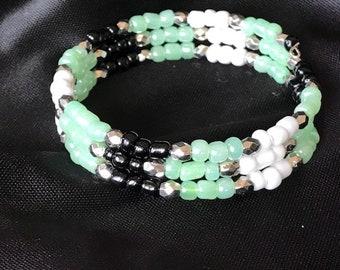 Summer Bracelet, Green Bracelet, Beach Bracelet