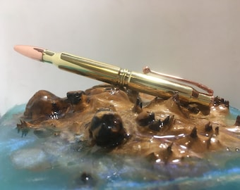 Brass casing pen