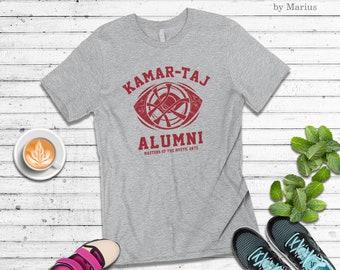 2db3f37610 Kamar-taj alumni t-shirt ~ funny doctor strange shirt ~ dr strange shirt ~  dr. strange funny infinity war tee t-shirt cu n