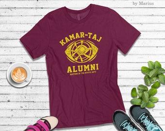 9b508e2439 Kamar-taj alumni t-shirt ~ doctor strange shirt ~ dr strange shirt ~ funny  dr. strange infinity war tee t-shirt ct n