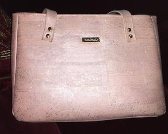 Baker Street Bag- Rose Gold Cork