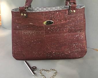 Baler Street Bag- Purple Cork