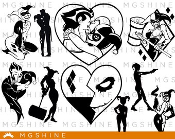 Harley Quinn SVG for Cricut adce164651