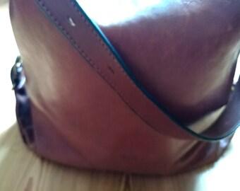 French Leather Vintage Handbag (Katana)