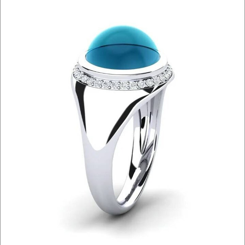 Solid 925 sterling silver London Blue Topaz Gemstone Zircon Halo Men/'s wedding engagement Anniversary Groom proposal Ring A father/'s dayGift