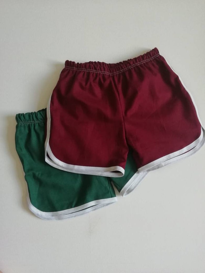 more photos 62590 99a5d Green Retro running shorts   Etsy