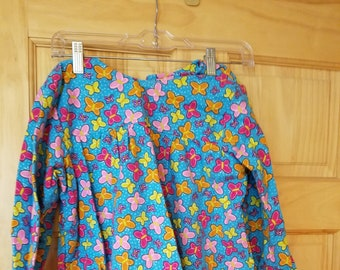 Homemade Toddler Girls Flannel Pajamas/PJs (Top & Bottom) Fits Sizes 3T to 4T