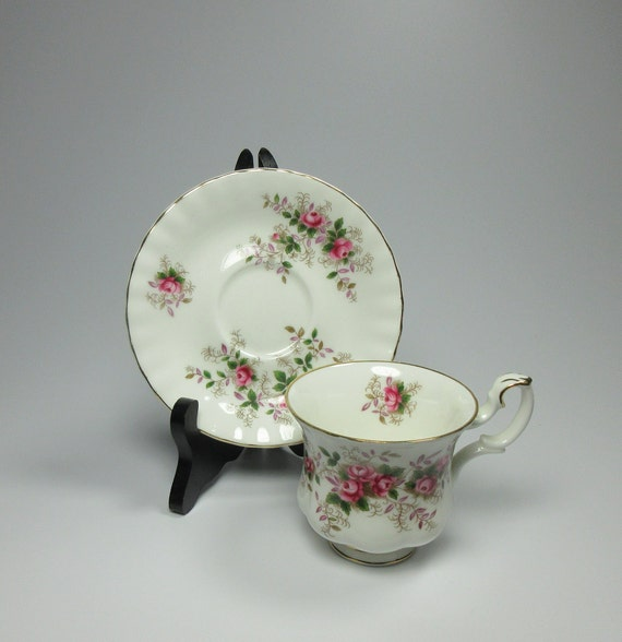 Royal Albert Servies Lavender Rose.Royal Albert Lavender Rose Ladies Teacup And Saucer Vintage Etsy
