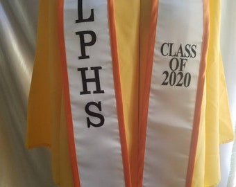 "Funny Graduation Gifts for Boy or Girl Black /""Class of 2020/"" Graduation Sash Gold Glitter Letter Graduate Satin Sash 2020 Graduation Celebration Party Supplies"