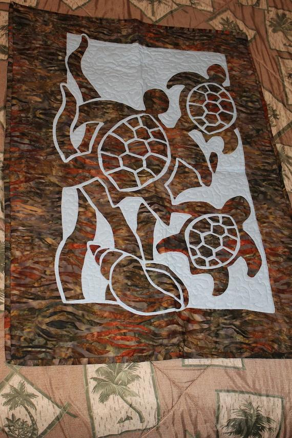 Applique murale de tortues