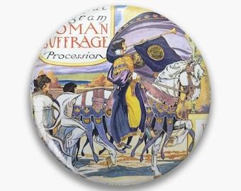 1913 Women's March On Washington - Votes For Women Circa 1913 - Women's Suffrage Two Pin Set