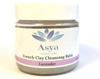 French clay cleansing balm and Makeup remover