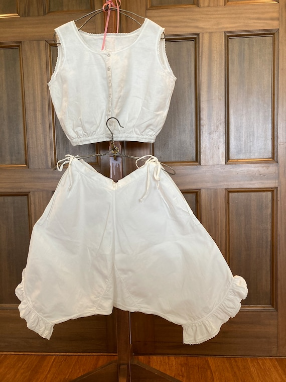 Camisole and Bloomers Vintage