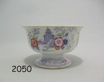 RISTORI Kastkom-footed Bowl-footed Compote-P. Regout