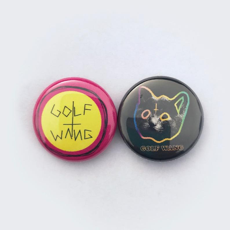 c46dcd7b953491 Golf Wang set of Two 1 Buttons Tyler The Creator    Odd