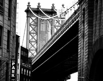 Manhattan Bridge High Contrast
