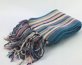 scarf in cashemere and wool mix