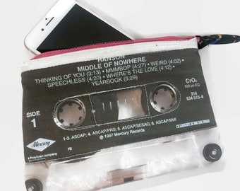 Hanson Middle of Nowhere Cassette Tape Phone Case Medium Change Purse 90s Music iPhone Case Samsung Galaxy Case 90s Rock 90s Band 90s Wallet