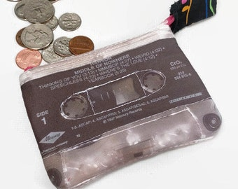 Hanson Middle of Nowhere Mini Cassette Tape Change Purse 90s Music 90s Rock Mini Wallet 90s Boy Band 90s Wallet