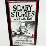 Scary Stories To Tell in the Dark Book Light Switchplate, Horror Movie Memorabilia, Light Switch Cover, Housewarming Gift for Horror Fan