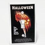 Halloween 1978 Light Switchplate, Michael Myers, Horror Movie Memorabilia, Light Switch Cover, 70s Movie, Housewarming Gift for Horror Fan