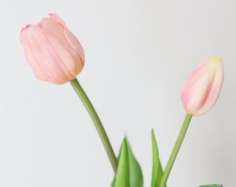57908004d6cc5 Real Touch Tulpis, Artificial Tulip Stems, Fake Tulip, Pink Tulips, Fake  Flowers, Faux Tulips, DIY Wedding Bouquet, Pink Tulips Home Decor