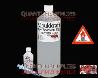 CATALYST FIBREGLASS moulds etc.. CLEAR GELCOAT 500gm KIT INCLUDES HARDER