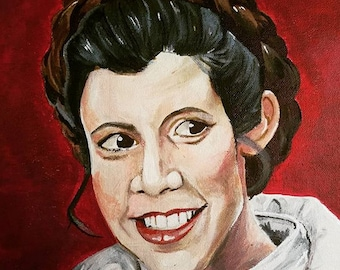 Princess Leia Canvas