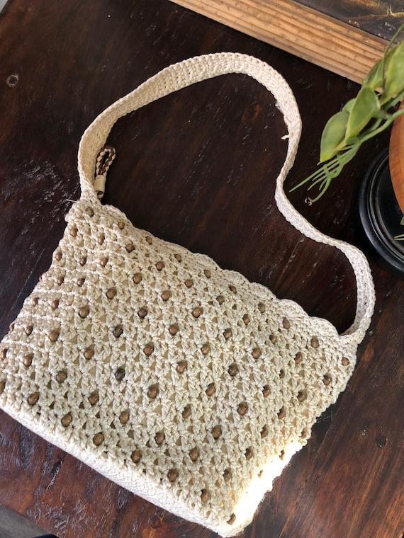 """Vintage """"The Sak"""" Crochet Bag"""