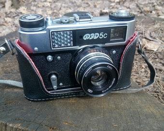Soviet camera FED-5s rare vintage ussr camera made in USSR