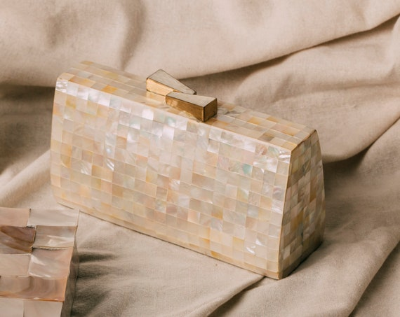 Maria Clara Mother of Pearl Clutch