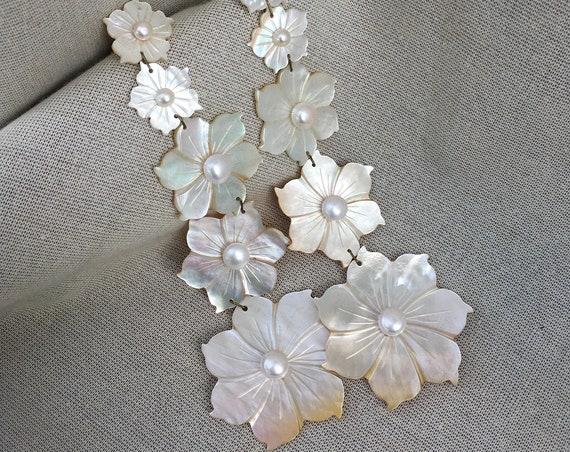 Donya Mother of Pearl Earrings