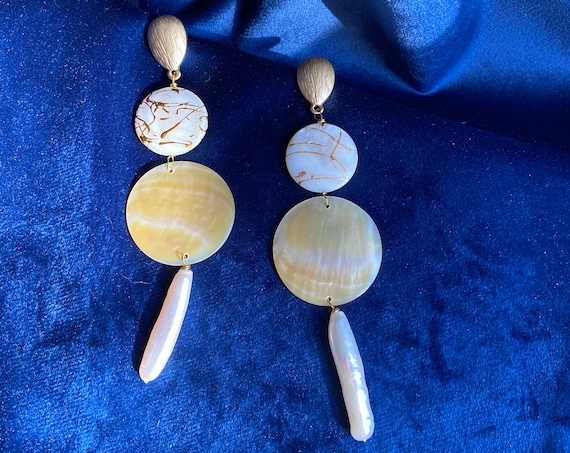 Diwata Mother of Pearl Earrings