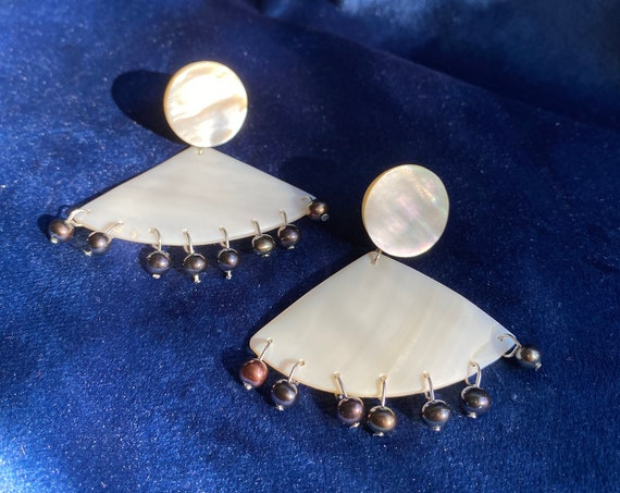 Cora Mother of Pearl Earrings