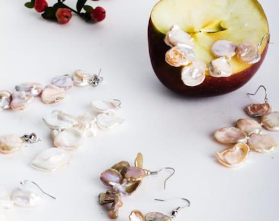 Ubas Pearl Earrings