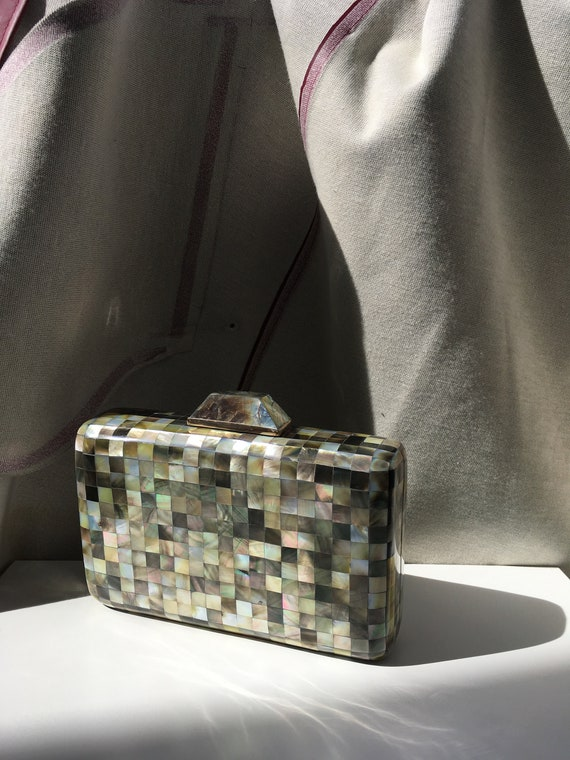 Maria Ysabel Mother of Pearl Clutch