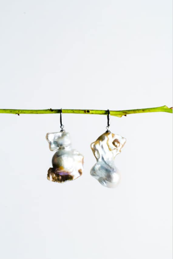 Pulo Pearl Earrings