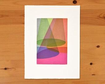 Quartet IV, Original Intaglio Print