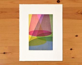 Quartet III, Original Intaglio Print