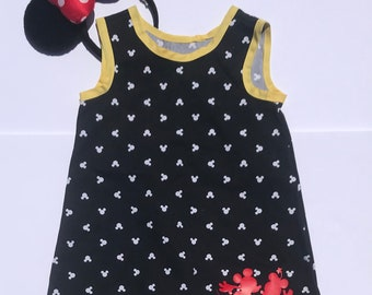 Mickey & Minnie Smock Dress
