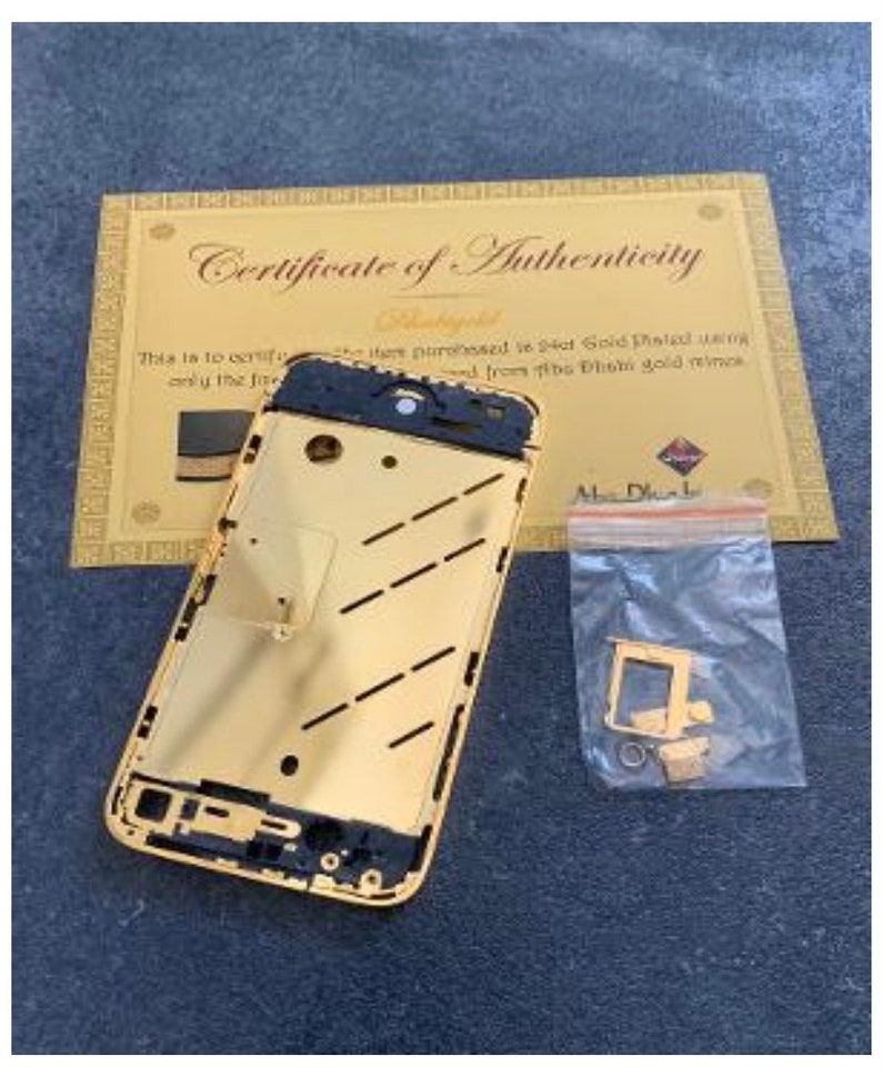 24ct Gold Plated Middle Frame Chassis for iPhone 4