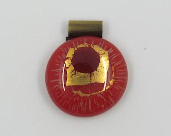 Single Piece Crystal pendant.