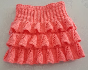 skirt with ruffle for 2-4 years