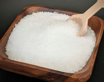 Peppermint & Eucalyptus bath salt - artisan handmade bath salts - peppermint eucalyptus bath soak